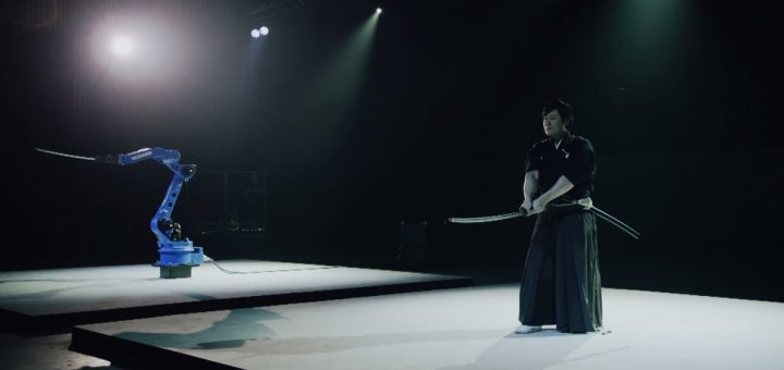 YASKAWA BUSHIDO PROJECT : เมื่อ Iaijyutsu Master