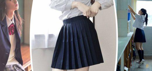 Rồi bạn sẽ hiểu ... Đó là lý do tại sao sinh viên Nhật Bản phải mặc váy ngắn