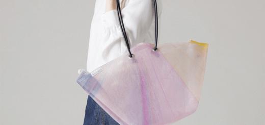 Chiếc túi đầy màu sắc được tái chế từ ô đã bị vứt bỏ