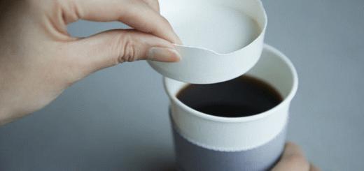 Nắp đậy cà phê bằng giấy độc đáo giúp giảm rác thải nhựa
