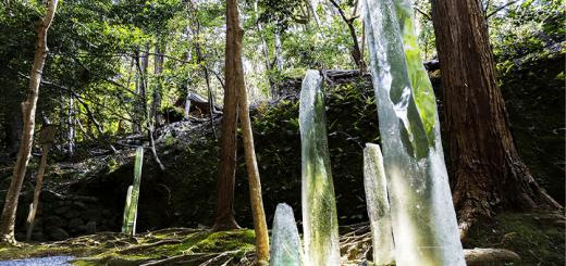 KYOTO – Tác phẩm thủy tinh nghệ thuật được làm từ vật liệu đã qua sử dụng, lần đầu tiên có mặt trên thế giới