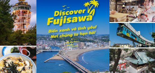 Discover FUJISAWA Biển xanh và tình yêu! Nơi chúng ta hẹn hò!