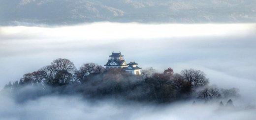Lâu đài lơ lửng trong biển mây ở Nhật, ai cũng ước mong được đến một lần