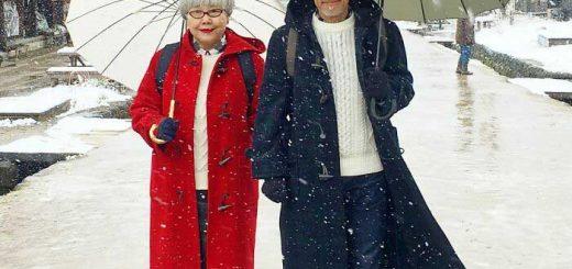 Ông bà xì tai nhất nước Nhật, chỉ thích mặc đồ đôi, ai nhìn cũng ngưỡng mộ