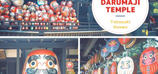"""Khám phá Chùa Daruma, TP Takasaki, Gunma – Daruma chất chồng như cái núi trông rất """"cưng"""""""