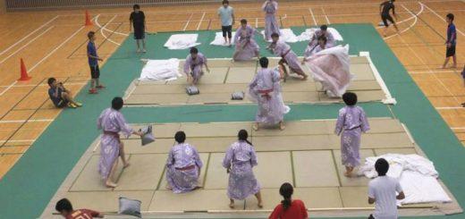 Từ trò đùa ném gối của trẻ em nay trở thành môn thể thao quốc gia ở Nhật