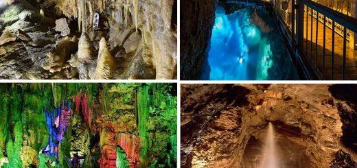Sốc trước những khối thạch nhũ hàng triệu năm tuổi trong những hang động này ở Nhật