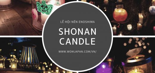 Shonan Candle 2021 – Lễ hội nến lớn nhất Nhật Bản được tổ chức tại đảo Enoshima