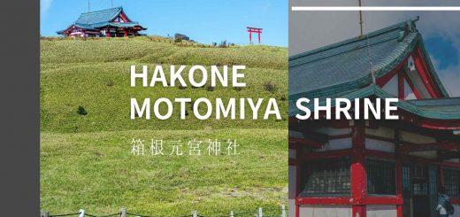 Hakone Motomiya Shrine, hơn 2400 năm lịch sử tồn tại ngôi đền trên mây