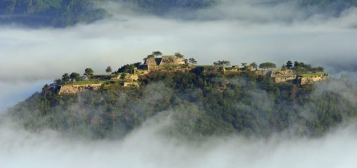 Takeda Castle Ruins .. Machu Pichu แห่งประเทศญี่ปุ่น