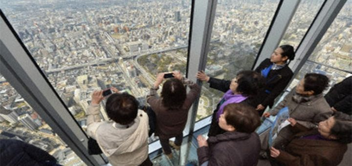 Abeno Harukas อาคารที่สูงที่สุดแห่งใหม่ในญี่ปุ่น ในเมืองโอซาก้า ด้วยความสูง300เมตร