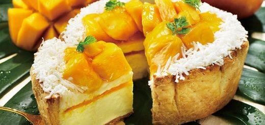 Goro Goro Mango & Coconut Cheese Tart ชีสทาร์ตรสชาติใหม่สไตล์เมืองร้อนจาก PABLO