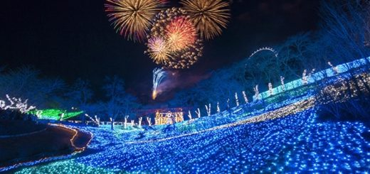 EVENTS : เทศกาลพลุและไฟประดับฤดูร้อน Sagamiko Noryo Illumilion จังหวัด Kanagawa