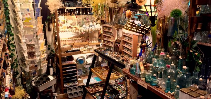 """คนรักของแอนธีคจงไปที่นี่ ! ร้าน """"Umi Fuku Zakka"""" บรรยากาศอย่างกับหลุดมาจากเรื่อง """"Harry Potter"""""""