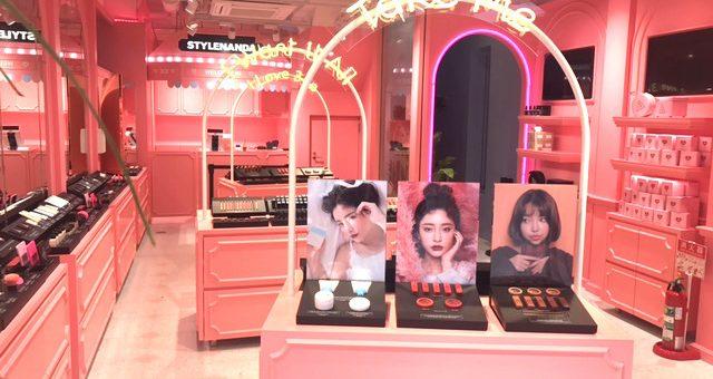 STYLENANDA เครื่องสำอางแบรนด์ดังจากเกาหลีเอาใจสาวๆ เปิดตัวในญี่ปุ่นเป็นครั้งแรกที่ฮาราจุกุ