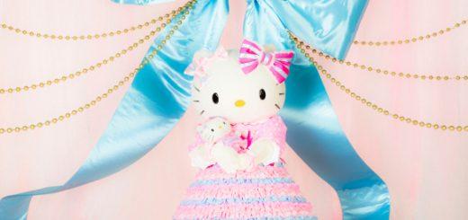 HELLO KITTY กับเสื้อผ้าโรแมนติกสุดหวานลิมิเต็ด ฉลองวันเกิดปีนี้ครบ 43 ปีแล้วจ้า! มีเงินอย่างเดียวซื้อไม่ได้ ต้องดวงดีด้วย!
