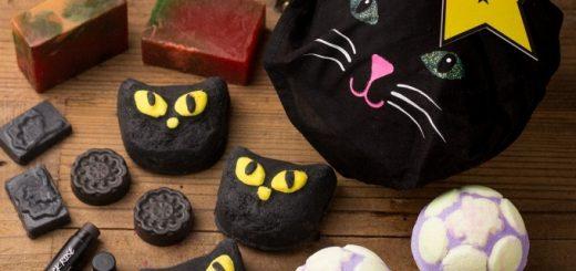Lush ออกแพคเก็จสบู่รูปแมวดำ สบู่ฟักทองไอเท็มลิมิเต็ดเอาใจเทศกาลฮัลโลวีน วางขายออนไลน์ทั่วญี่ปุ่น