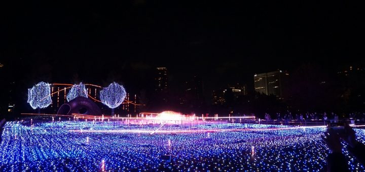 ตื่นตาตื่นใจไปกับ Tokyo Midtown Illumination 2017 งานไฟประดับสุดอลังการที่รปปงหงิ จัดถึงคริสมาสต์ปีนี้เท่านั้น