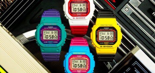 "CASIO ออกนาฬิกา G-SHOCK รุ่นล่าสุด ""DW-500TB"" สีสดใส ได้แรงบันดาลใจจากแฟชั่นฮาราจูกุยุค 80!"