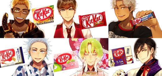 กลับมาอีกครั้ง!! เมื่อศิลปินชาวญี่ปุ่นเปลี่ยน Kit Kat แต่ละรสชาติ ให้กลายเป็นชายหนุ่มสุดหล่อใน Anime !?!?