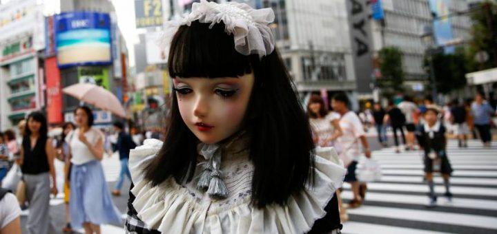 พบกับ Lulu นางแบบตุ๊กตามีชีวิต ที่กำลังเป็นกระแสในโตเกียวขณะนี้ !!