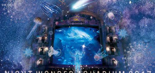 ตื่นตาตื่นใจไปกับ Night Wonder Aquarium 2017 - Aquarium Full of Stars แห่งใหม่ ที่ Enoshima