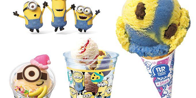 สาวกมินเนี่ยนห้ามพลาด! เหล่าตัวแสบสีเหลืองแปลงร่างเป็นไอศกรีมในแคมเปญใหม่ จาก Baskin Robbins ญี่ปุ่น
