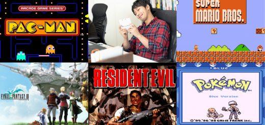เคยเล่นกันมั้ย Top 5 อันดับวีดีโอเกมส์ที่มีต้นกำเนิดมาจากประเทศญี่ปุ่น