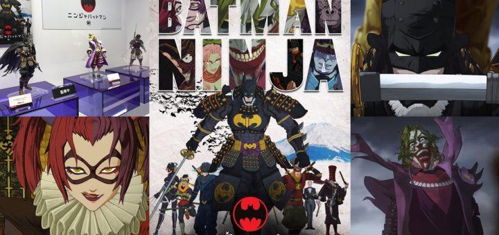 """แบทแมน นินจา - """"BATMAN NINJA"""" จากค่าย DC นำซูเปอร์ฮีโร่รวมร่างกับนินจาเพื่อต่อสู้กับเหล่าร้ายในสไตล์ญี่ปุ่น เตรียมออกเป็นแผ่นบลูเรย์และดีวีดีปี 2018 นี้!"""