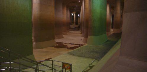 ระบบท่อระบายน้ำยักษ์ใต้ดิน ช่วยโตเกียวจากภัยน้ำท่วมได้ชะงัด
