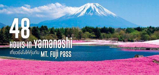 48 Hours in Yamanashi - เที่ยวยังไงให้คุ้มกับ Mt. Fuji Pass