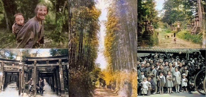 เติมสีให้ภาพขาวดำ ดื่มด่ำกับบรรยากาศของผู้คนตามประเทศหัวเมืองใหญ่ๆ ทั่วญี่ปุ่นเมื่อ 100 ปีก่อน