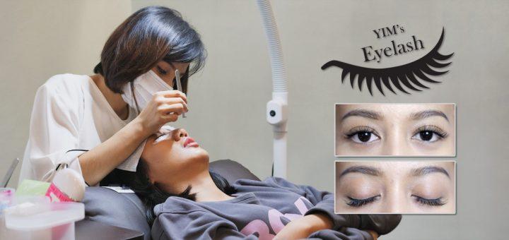 เพิ่มมิติให้ดวงตาสวยหวาน ด้วยเทคนิคการต่อขนตา3Dจาก Yim's Style