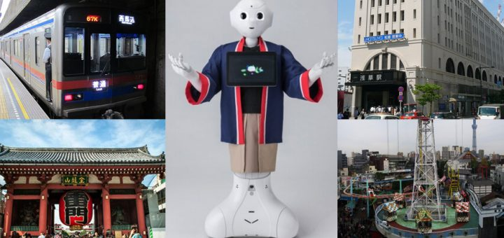 Pepper หุ่นยนต์อัจฉริยะในชุดญี่ปุ่นพื้นเมือง พูดได้ 3 ภาษากับภารกิจแนะนำนักท่องเที่ยว 4 จุดสำคัญที่อาซากุสะ