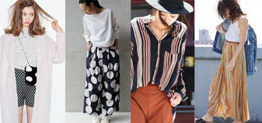 Polka Dot & Stripe ลายปริ้นท์ติดเทรนด์โลกสู่แฟชั่นลุคสไตล์สาวญี่ปุ่น