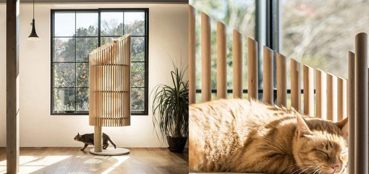 คนรักแมวไม่ควรพลาด! ศิลปินญี่ปุ่นออกแบบเฟอร์นิเจอร์แมว ให้กลมกลืนกับบรรยากาศของบ้านอันแสนอบอุ่นของทั้งคนและน้องเหมียว