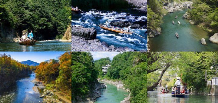 มาหนีความวุ่นวายจากตัวเมือง แล้วไปล่องเรือกัน! ขอแนะนำ 7 สถานที่ล่องเรือในประเทศญี่ปุ่น