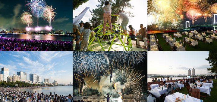 """พบกับอีเว้นท์ครั้งยิ่งใหญ่ """"STAR ISLAND 2018"""" งานแสดงดอกไม้ไฟและแสงสีเสียงสุดตระการตาที่สวนสาธารณะริมทะเลโอไดบะ 26 พ.ค. นี้!"""
