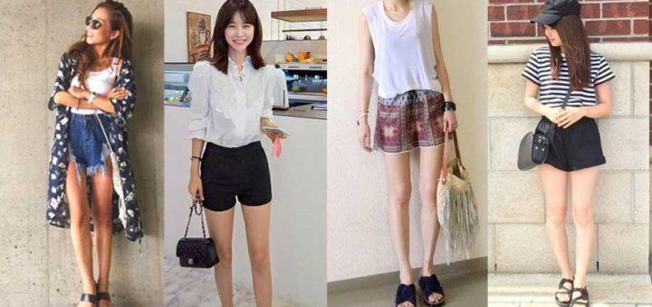 ใส่กางเกงขาสั้นตามแบบสาวญี่ปุ่นยังไงให้ปังในหน้าร้อนนี้