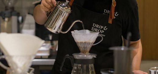 ไม่ต้องบินไปถึงญี่ปุ่น! Drip & Drop Coffee Supply ร้านกาแฟดีดีจากเมืองเกียวโตมาเปิดแล้วที่กรุงเทพ!