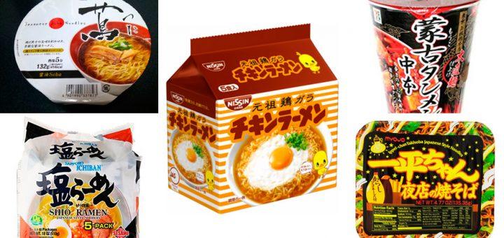 Top 5 บะหมี่กึ่งสำเร็จรูปที่ไม่ควรพลาดของญี่ปุ่น
