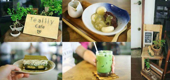 Tealily Cafe - Matcha Cafe for Matcha lover กับบ้านหลังใหม่ที่เอกมัยซอย 12