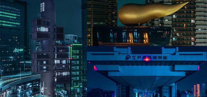 ตากล้องเจ๋งเวอร์ ถ่ายทอดภาพผ่านเลนส์ เปลี่ยนโตเกียวให้กลายเป็นฉากในหนัง Sci-Fi