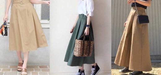 Chino Skirt ใส่คนเดียวก็ได้ ใส่เป็นคู่ก็น่ารัก