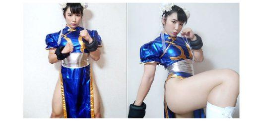 สาวญี่ปุ่นหน้าหวาน แต่กล้ามล่ำบึกออกมาคอสเพลย์เป็นตัวละครจากเกมดังอย่าง Street Fighter ขายาวขาวสวย งานนี้เธอได้เผยความลับความเป๊ะเว่อร์ของเรียวขาสุดเซ็กซี่คู่นี้อีกด้วย