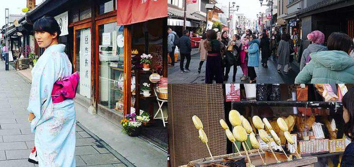 แต่งกิโมโนแล้วไปเดินเล่น กินขนม ชมวิวเมืองเก่า ที่คาวาโกเอะ ไซตามะกับสถานที่ลับสำหรับคนอยากมีความรักกันกันเถอะ