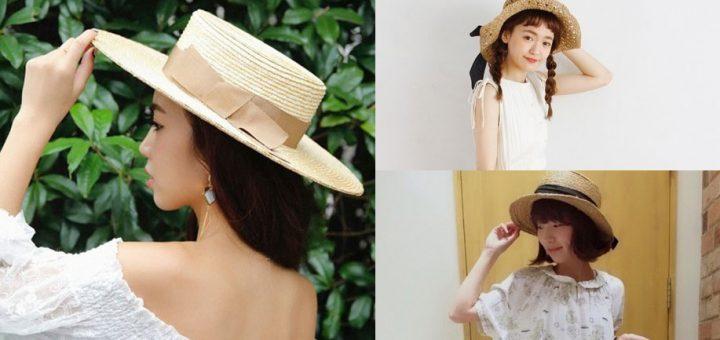สดใสไปกับหน้าร้อนกว่าใครด้วยการเพิ่มหมวกสานเพียงใบเดียว!