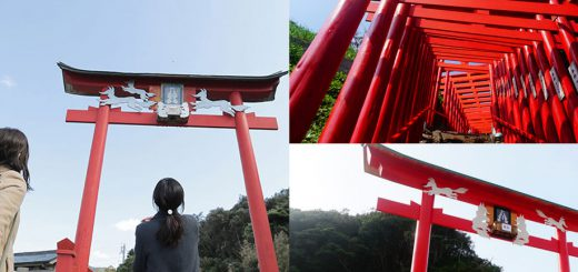 ใคร ๆ ก็ไปดูเสาโทริอิที่ศาลเจ้าฟูชิมิอินาริที่เกียวโต นี่ก็ว่าชักจะซ้ำแล้ว ลองไปที่ใหม่กันบ้างไหมคะ? – ศาลเจ้าโมโตโนซุมิอินาริที่จังหวัดยามากุจิไงล่ะ สวยไม่แพ้กันเลยนะ