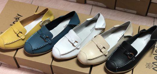 Melody รองเท้าหนังแท้แบรนด์ญี่ปุ่นจากโรงงาน พื้นนุ่ม ใส่สบาย