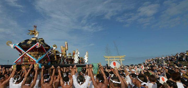 ชมเทศกาลแห่เกี้ยวศาลเจ้า Kazusa Jyunisha Matsuri ที่เมืองอิจิโนะมิยะ จังหวัดจิบะ วันที่ 13 กันยายนนี้!